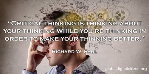 Critical thinking is thinking about your thinking