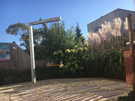 The swing in my back garden