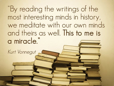 By reading the writings of the most interesting minds in history